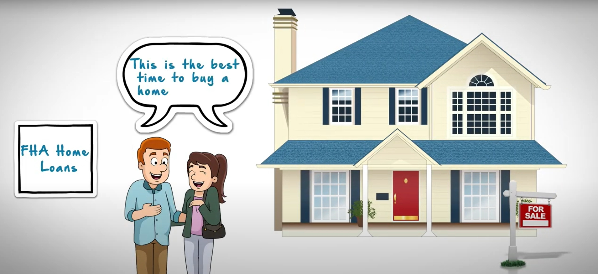 FHA Home Loans For First Time Home Buyers